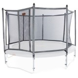 NEW Safety Enclosure for JumpFree PROLINE Trampolines - Titanium Gray (Multiple Sizes)