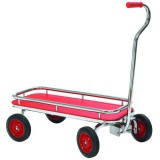 Angeles SilverRider® Red Wagon, 2-8 Years Age