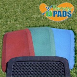 KidWise 1.5 inch Fanny Pads - Rubber Safety Mat - 2 Pack