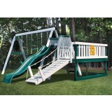 CONGO Swing'N Monkey 3 Position Swing Set With Play Deck - Multiple Colors