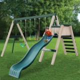 CONGO Swing'N Monkey 3 Position Play Set - Green and Tan