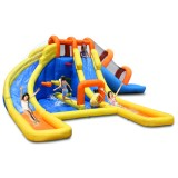 KidWise Super Tunnel Slide Waterpark - Inflatable Water Slide