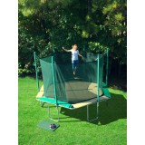 SportsTramp Extreme 14' Hexagon Trampoline with Detachable Safety Cage