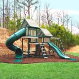 Monkey Play Set Package #3 Green and Sand - Backordered until early September