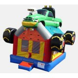Monster Truck Bouncer - Commercial Inflatable Bounce House