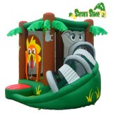 Safari Bounce and Slide - Inflatable Bounce House