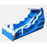 22' Mungo Surf Slide Waterslide - Ocean Themed Commercial Inflatable