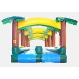 Hawaiian Slip and Slide Double Lane - Commercial Inflatable Waterslide
