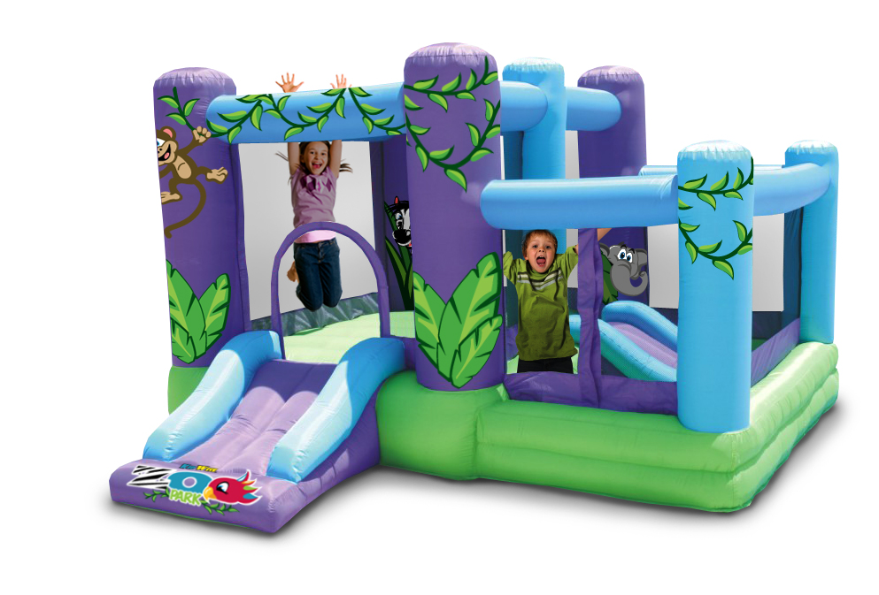 KIDWISE NEW ZOO PARK BOUNCER WITH BALL PIT at Sears.com