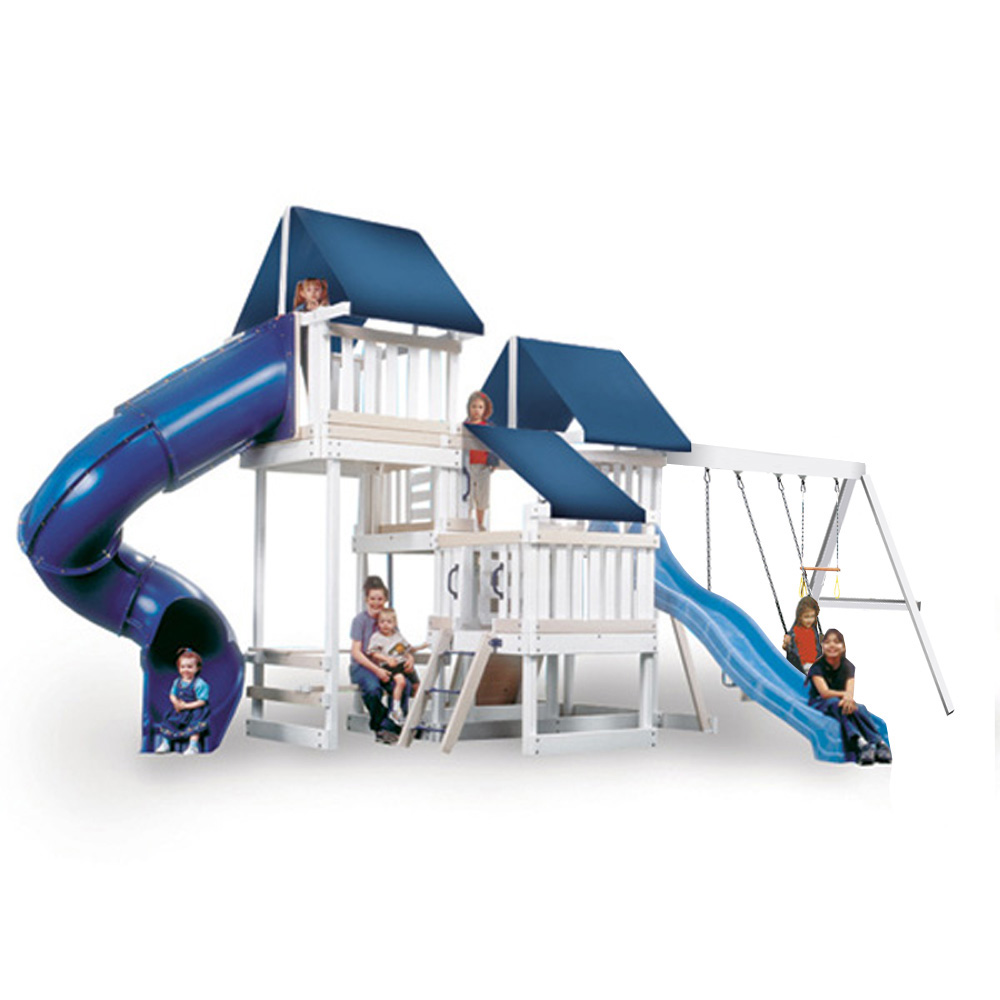 KidWise Congo Monkey Playsystems CONGO Monkey Playsystem 4 with Swing Beam -WHITE and SAND at Sears.com