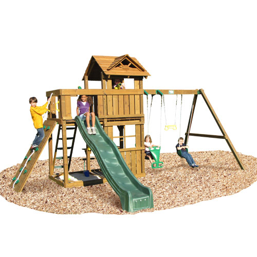KIDWISE Cambridge Swing Set: Swing Beam With Rope Accessories at Sears.com