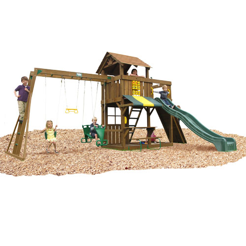 KIDWISE Cambridge Swing Set: Top Ladder With Chain Accessories at Sears.com