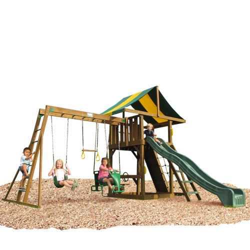 KIDWISE Lincoln Swing Set: Top Ladder With Rope Accessories at Sears.com