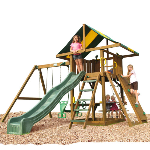 KIDWISE Lincoln Swing Set: Swing Beam With Rope Accessories at Sears.com